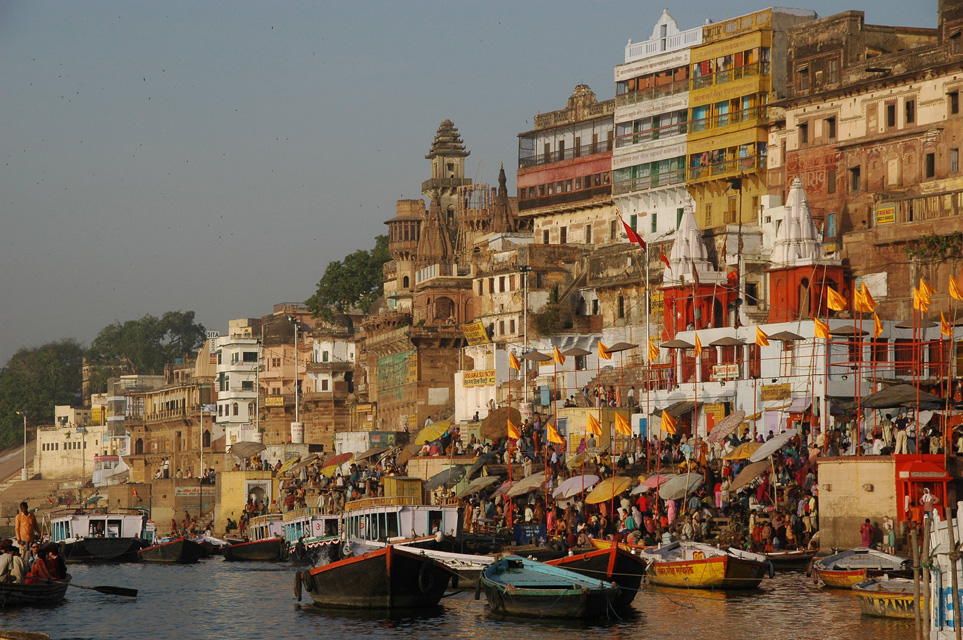 Varanasi River Bank - Indian Craft Online